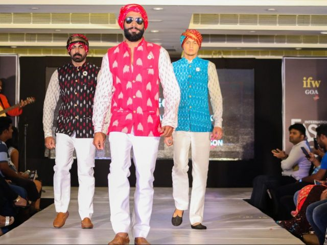 Two Fashion designers from IFW talk about their collections