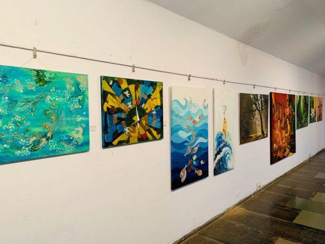 Vibrations of Colours come to Kala Academy