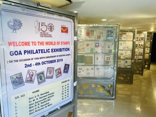 Goa Philatelic Exhibition serves a humble homage to Mahatma Gandhi