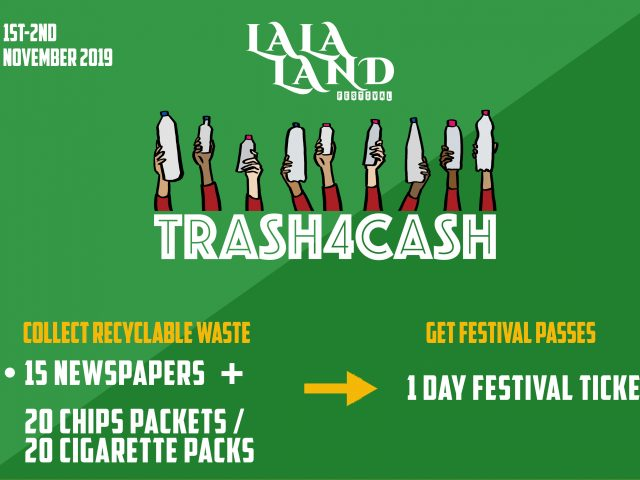 LaLaLand festival makes 800 Tickets available worth Rs. 4 lakh in return for Trash