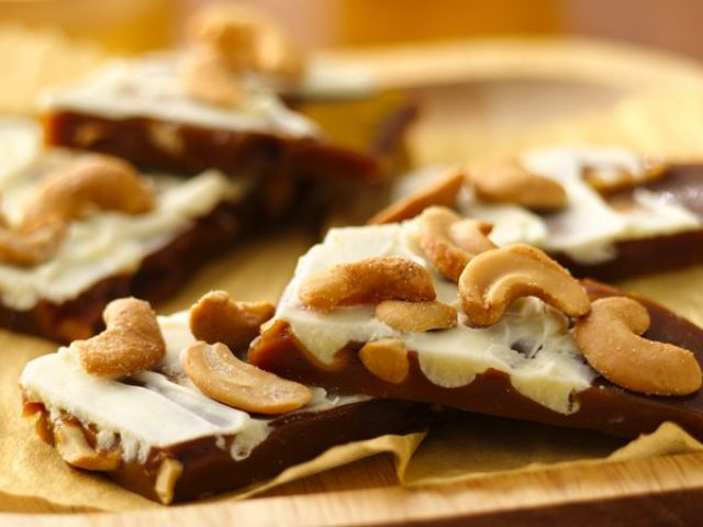 From Grandma's Kitchen: Cashewnut Toffee