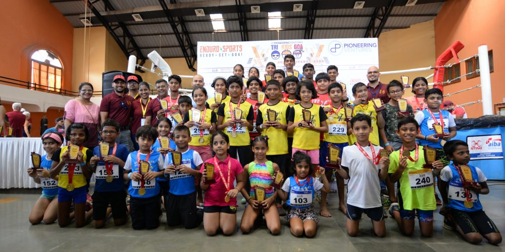 Prayag Jaiswal of Mumbai and Jal Naik of Margao emerge winners in 12-15 years age category at Trikids 2019