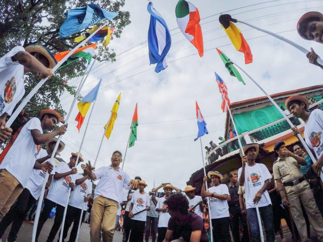 Flags, Floats, and Fun- Bonderam Festival