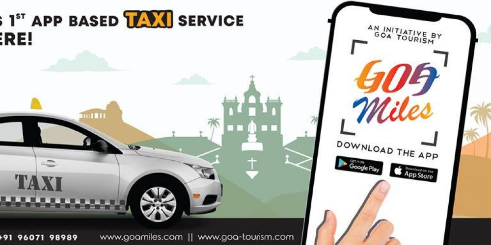 GoaMiles is now Goa government's licensed app based taxi service