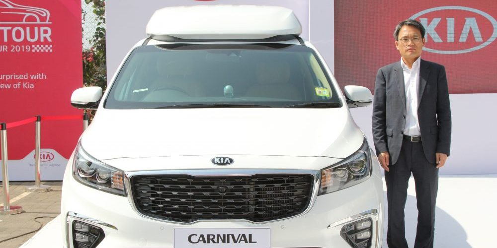 Kia Motors showcases 'Carnival' and 'Niro'; to launch 'SP2i' in mid 2019