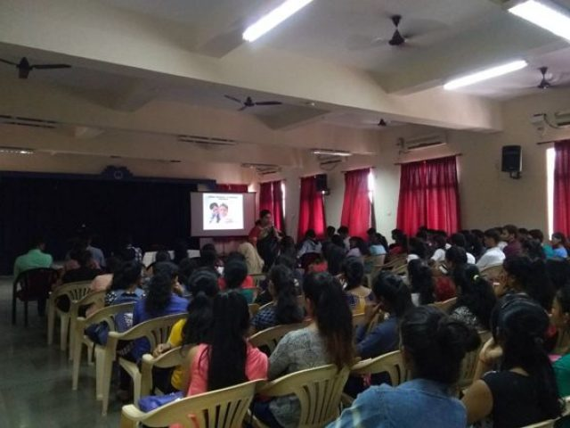 Talk on Sexual Harassment at Workplace Held at Shree Damodar College of Commerce & Economics