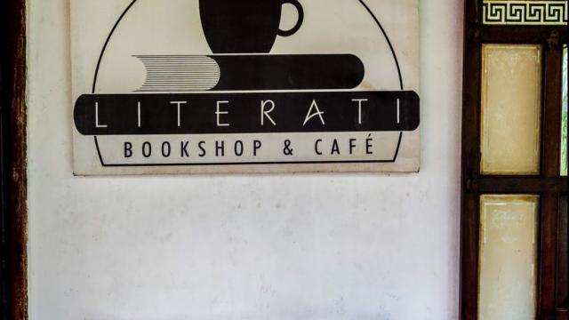 A simpler life is better ~ Literati Bookshop Founder