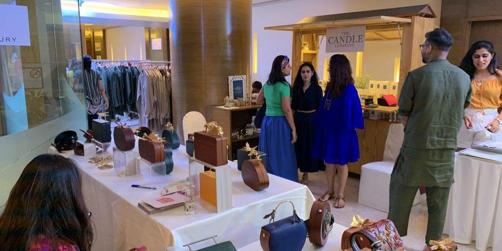 A designer pop-up cum exhibition held at Taj Vivanta