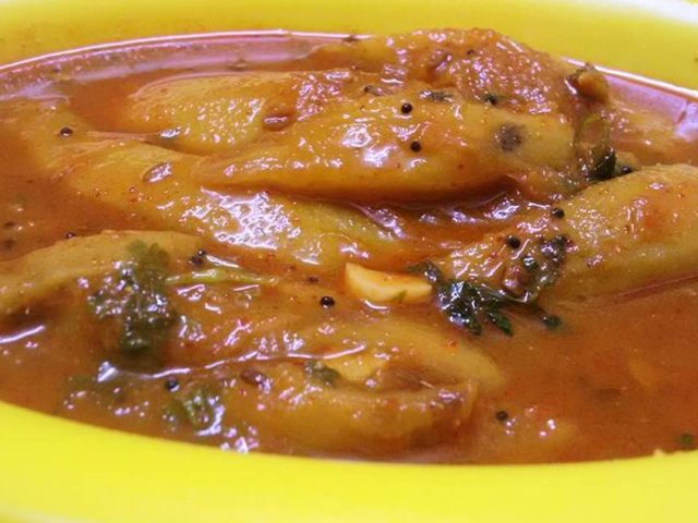 From Grandma's Kitchen: Mango sweet and sour gravy