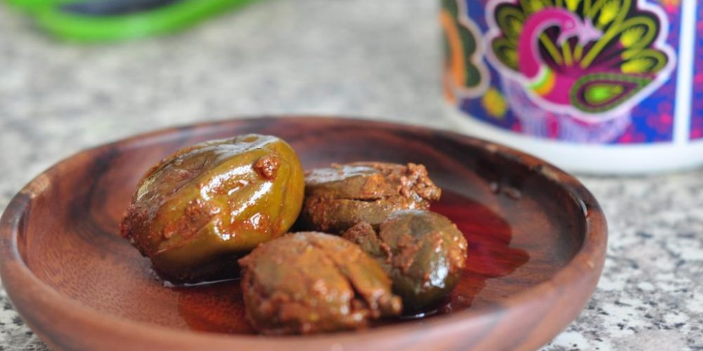 From Grandma's Kitchen: Stuffed Mango Pickle